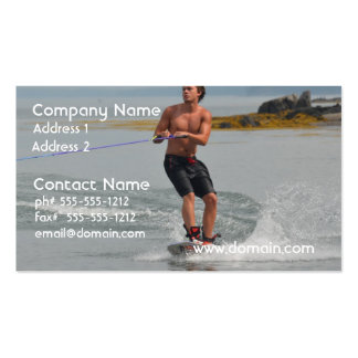 Buff Wakeboarder Pack Of Standard Business Cards