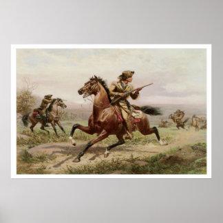 Buffalo Bill 1885 Vintage Art Print Poster
