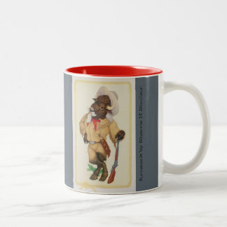 Buffalo Bill and Sitting Bull Combo Mug
