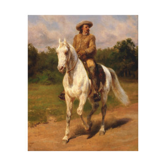 Buffalo Bill Cody by Rosa Bonheur Canvas Print