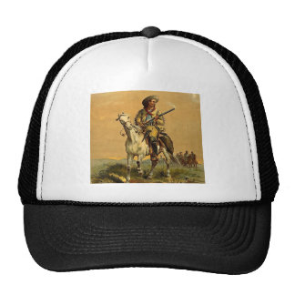 "Buffalo Bill ""The Scout"" Vintage Advertisement Cap"
