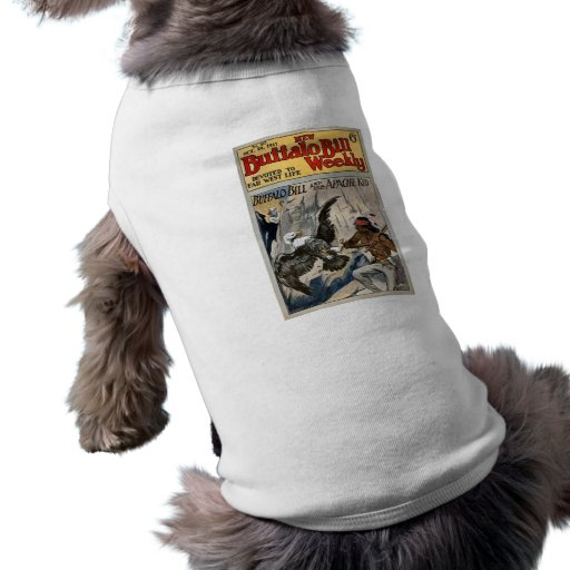 Buffalo Bill Weekly 1917 - The Apache Kid Doggie Tshirt