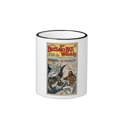 Buffalo Bill Weekly 1917 - The Apache Kid Mug