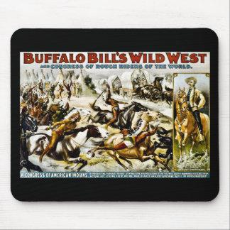 Buffalo Bill Wild West 1899 Mouse Pad