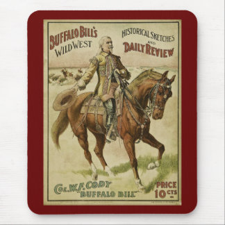 Buffalo Bill Wild West Daily Shows Mousepads
