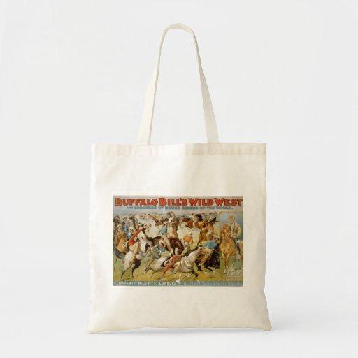 Buffalo Bill Wild West Show 1899 Tote Bag