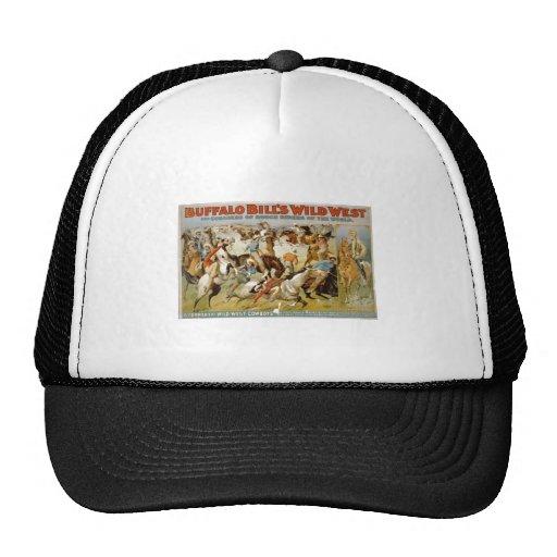 Buffalo Bill Wild West Show 1899 Mesh Hat
