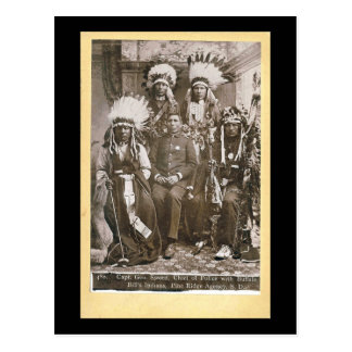 Buffalo Bill's Indians 1890 Postcard