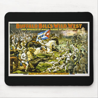 Buffalo Bill's Wild West 1898 Mouse Pad