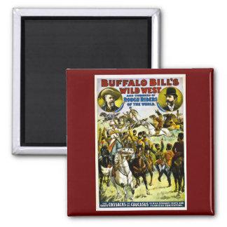 Buffalo Bill's Wild West and Congress 1899 Fridge Magnet