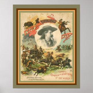 Buffalo Bill's Wild West Poster 16 x 20