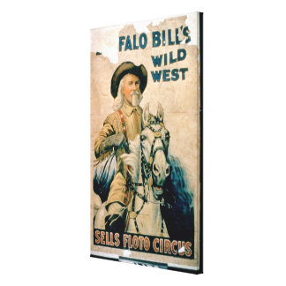 'Buffalo Bill's Wild West', Sells Floto Circus (co Gallery Wrapped Canvas