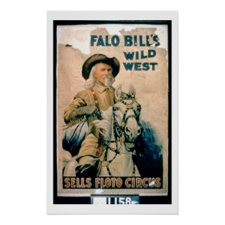 'Buffalo Bill's Wild West', Sells Floto Circus (co Poster