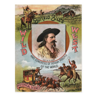 Buffalo Bills Wild West Show 1893 Vintage Ad Post Cards