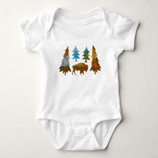 Buffalo / Bison Baby Bodysuit