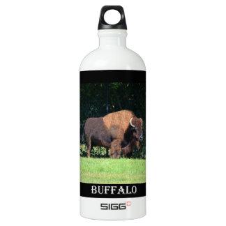 Buffalo (Bison) Kansas, Oklahoma, Wyoming SIGG Traveller 1.0L Water Bottle