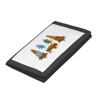 Buffalo / Bison Tri-fold Wallets