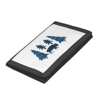 Buffalo / Bison Trifold Wallet
