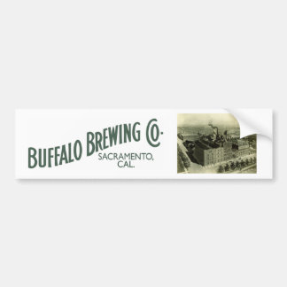 Buffalo Brewing Company, Sacramento, CA Bumper Sticker