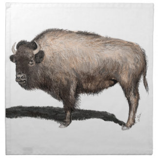 Buffalo, Bubalus Napkin