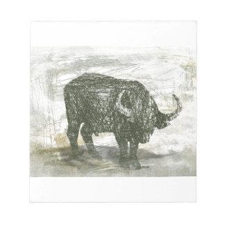 Buffalo Bull Notepads