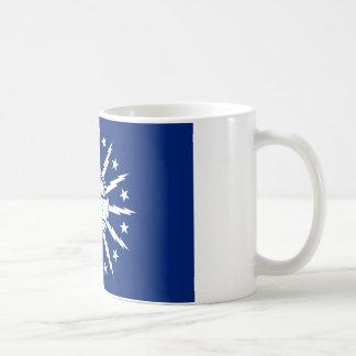 buffalo city flag united state america new york mugs