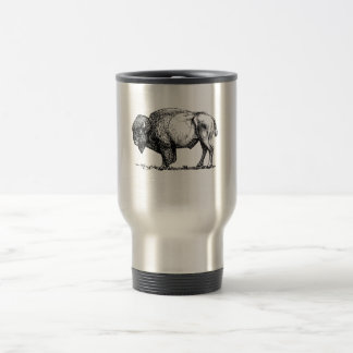 Buffalo Design Travel Mug