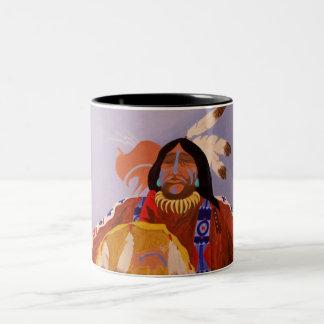 Buffalo Dreamer Two-Tone Mug