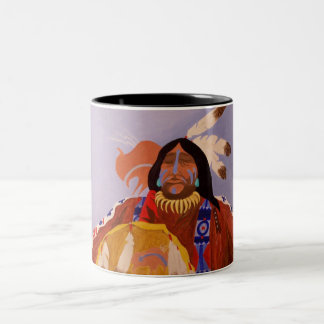 Buffalo Dreamer Two-Tone Coffee Mug