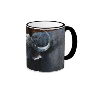 Buffalo fantasy art coffee mugs and cups