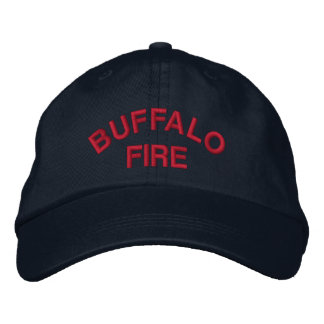 Buffalo Fire Embroidered Hat