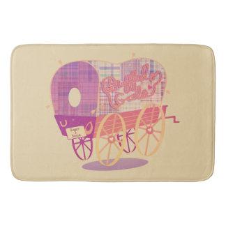 Buffalo Gals Wagon bath mat