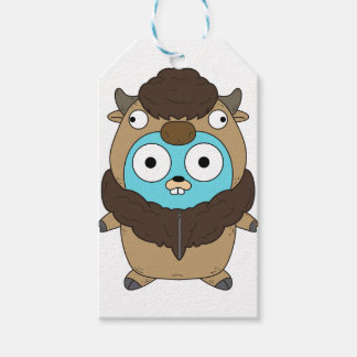 Buffalo Gopher Gift Tags