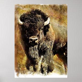 Buffalo Grunge Poster