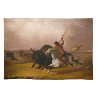 Buffalo Hunt on the Southwestern Plain Placemat