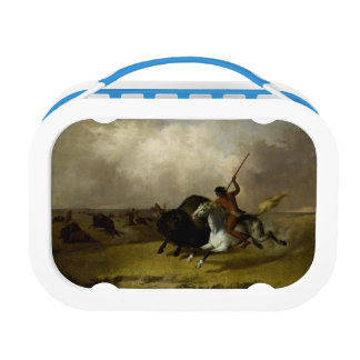 Buffalo Hunter Lunch Box