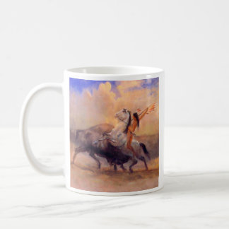 Buffalo Hunter Native American Coffee Mug