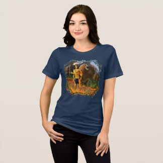 Buffalo Hunter Native American Women's T shirt