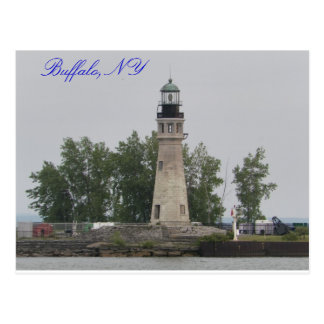 Buffalo Main Light Postcard