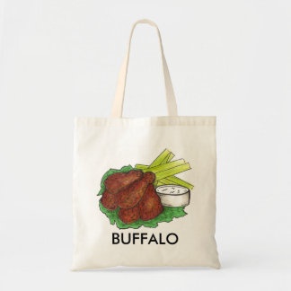 Buffalo, New York Buffalo Chicken Wing Wings Tote