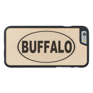 Buffalo New York Carved Maple iPhone 6 Case