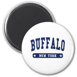 Buffalo New York College Style t shirts Magnets