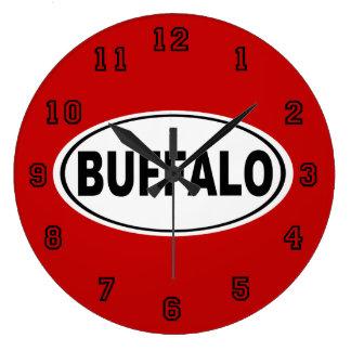 Buffalo New York Large Clock
