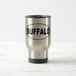Buffalo New York Travel Mug