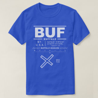 Buffalo Niagara International Airport BUF T-Shirt