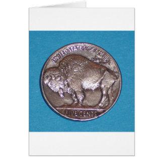 Buffalo Nickel 2 Card