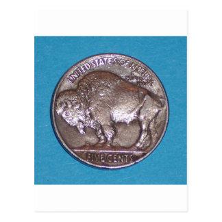 Buffalo Nickel 2 Post Cards
