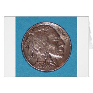 Buffalo Nickel Card