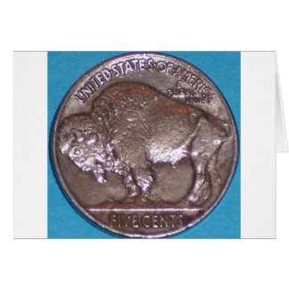 Buffalo Nickel Cards