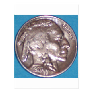Buffalo Nickel Post Card